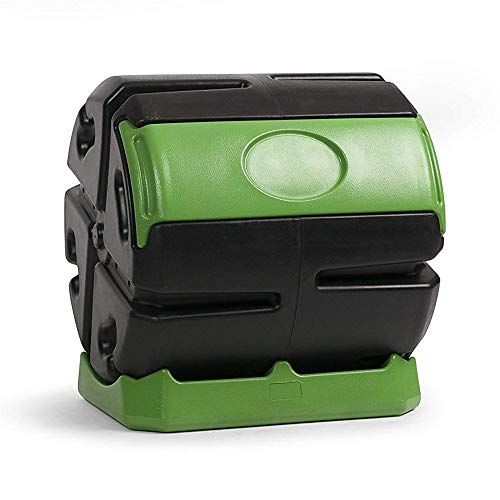 (Forest City Hot Frog 37-Gallon Recycled Plastic Compost Tumbler)