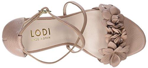 Lodi Damen Idaira Peeptoe Sandalen Pink (Ginger Rubor)