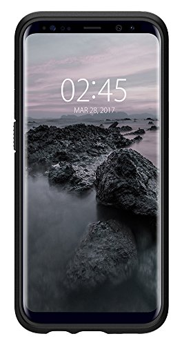 Spigen Slim Armor Galaxy S8 Plus Case with Air Cushion Technology and Hybrid Drop Protection for Galaxy S8 Plus (2017) - Black