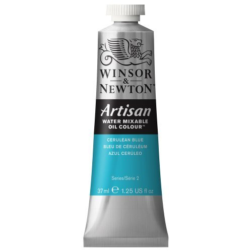 - Artisan Water Mixable Oil Paint 37ml Tube - Cerulean Blue by Winsor & Newton