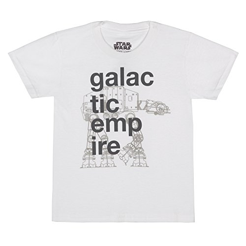 Star Wars Galactic Empire Youth T-Shirt - White (3T) by Star Wars (Image #1)