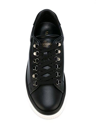 Valentino Mænd Ly2s0943brs0no Sort Læder Sneakers 3OBRWdbyN