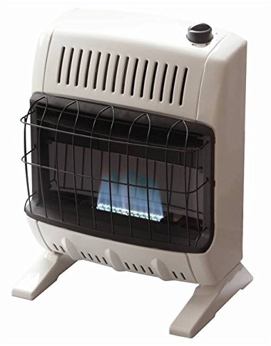 Heatstar By Enerco F156010 Ventfree Propane Heater with Thermostat HSVFB10LPT, Blue Flame, 10K