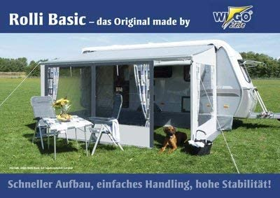 Wigo Rolli Basic - Tienda de campaña para toldo, tamaño 3: Amazon.es: Deportes y aire libre