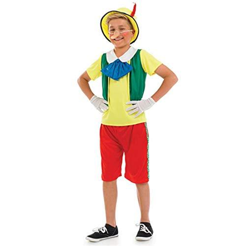Fun Shack Child Pinocchio Costume - AGE 8 - 10 YRS (L) by Fun Shack