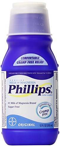 Филлипса Оригинал Молоко магнезии жидкость, 12-унция бутылка