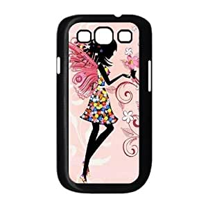 DIY Cover Case for samsung galaxy s3 i9300 w/ Fairy Butterfly image at Hmh-xase (style 8)