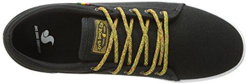 DVS Shoes Aversa - Zapatillas de casa Hombre Schwarz (BLACK RASTA Canvas)