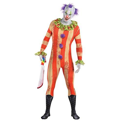 Slenderman Halloween (Clown Partysuit Costume - Large - Chest Size 44)
