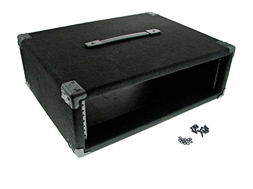 Procraft 3U 16'' Deep Equipment Rack 3 Space - Made in the USA - With Rack Screws by Procraft