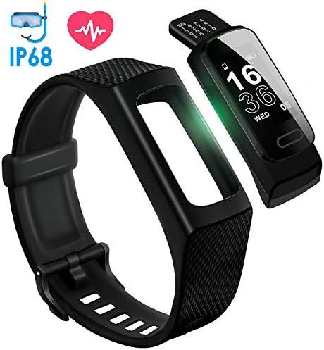 【 최신 】 4UMOR 스마트 워치 IP68 방수 GPS 스마트 팔찌 들어오는G-mailLine 알림 / 【Latest Version】4UMOR Smartwatch IP68 Waterproof GPS Smart Bracelet IncomingG-mailLine Notification