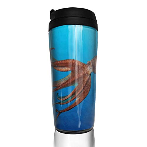 Coffee Mug Does An Octopus Have A Soul Travel Tumbler Insulated Leak Proof Drink Containers Holder Hot 12 Ounces