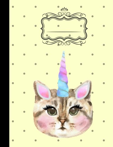 Caticorn Composition Notebook - Wide Ruled: 7.44 x 9.69 - 200 Pages - School Student Teacher Office ebook