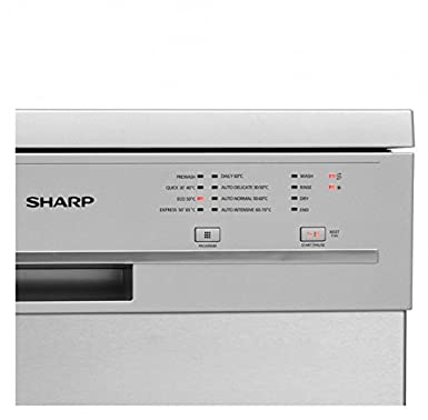 Sharp Home Appliances QW-GT21F472I Independiente 12cubiertos A++ ...
