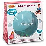 Edushape Sensory Toy Ball For Baby And Toddlers (7 Inch) - Multi-Color Mini Noisemaker Balls Inside - Fine Motor Skills…