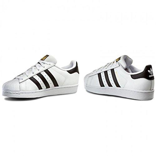 f2d09ccbc adidas Superstar J C77154 Unisex Sneaker - weiß schwarz