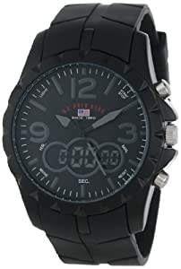 U.S. Polo Assn. Sport Men's US9058 Black Analog-Digital Watch by U.S. Polo Assn. Sport