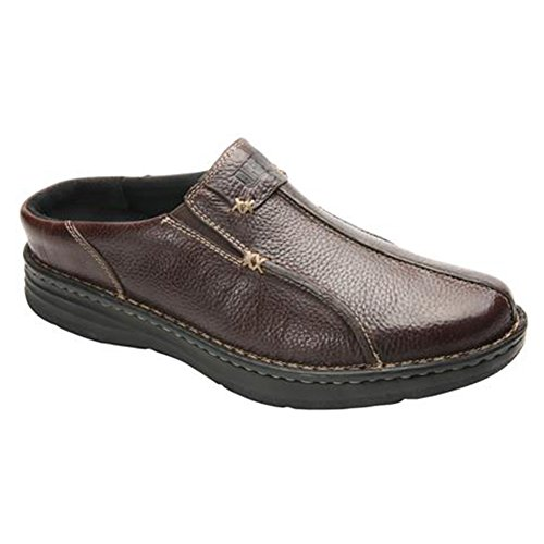 Jackson Extra Light (Drew Shoe Men's Drew Lightweight Fashion Clogs, Brown, Leather, 14 4W)