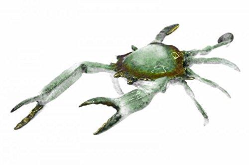 Collectible Museum Quality Blue Crab Bronze - Sculpture Bronze Crab