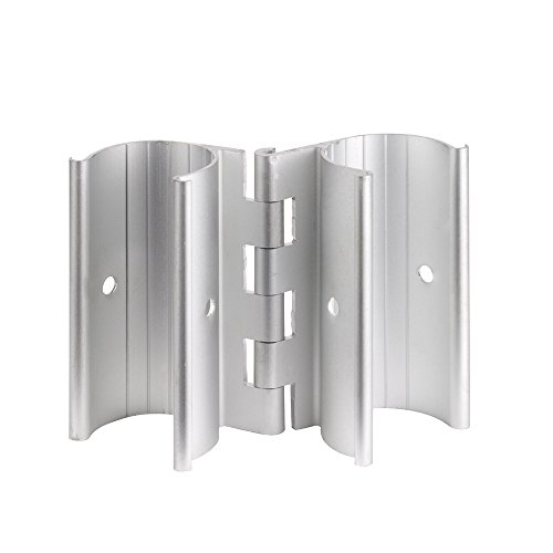 Pvc Snap - Aluminum Snap-On Hinge for PVC Doors Vents or Gates (3/4 Inch)