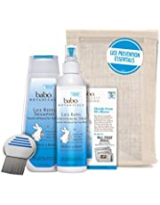 Babo Botanicals Essential Lice Prevention Set with Lice Comb, 16 Oz