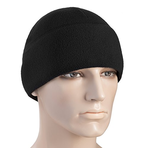 ce 260 Slimtex Mens Winter Hat Military Tactical Skull Cap Beanie (Small, Black) (Microfleece Beanie)