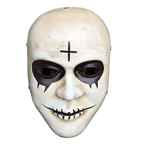 YUFENG Purge Scary Masquerade Mask for Men and Women