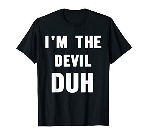 Easy Halloween Devil Costume Shirt for Men Women