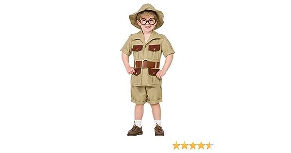 Disfraz Explorador 3-4: Amazon.es: Juguetes y juegos