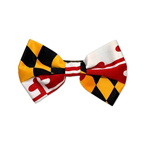 Route One Apparel | Maryland Flag Hair Bow