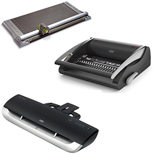Acco 4401925 Vorteils-Paket (für das Büro, enthält Bindegerät, Laminierer und Rollenschneider)