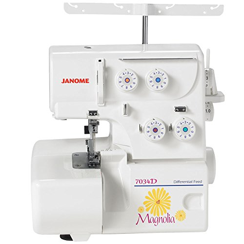 Cheapest Price! Janome 7034d Magnolia 3&4 Thread Overlock Serger