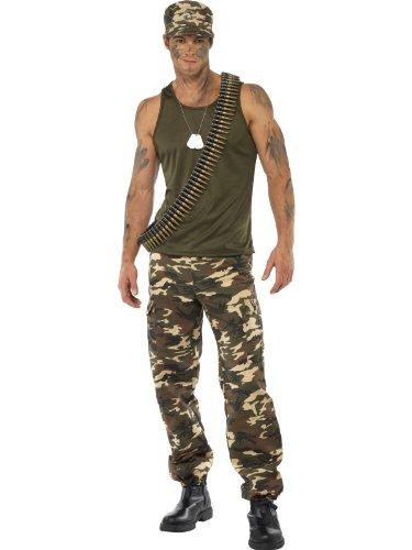 Khaki Camo Adult Costume -