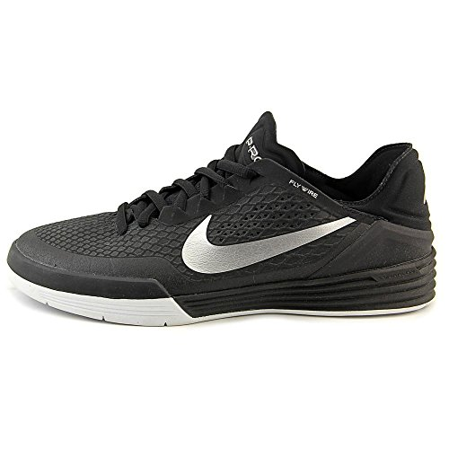 Nike Paul Rodriguez 8 para hombre de las zapatillas de deporte Formadores 654158 black/metallic silver/whi