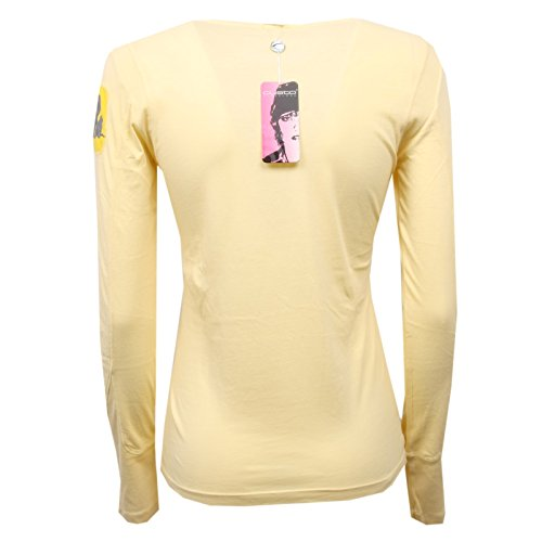 C8590 shirt 2 Giallo Yellow Donna Maglia m T Barcelona Woman Custo rWgnrzxTw