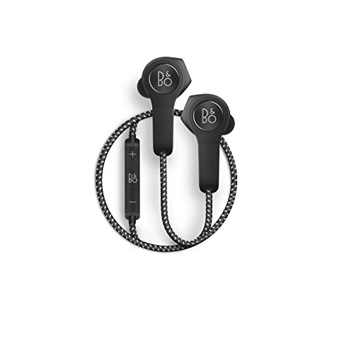 B&O PLAY by Bang & Olufsen Beoplay H5 Wireless Bluetooth Earphone Headphone, Black
