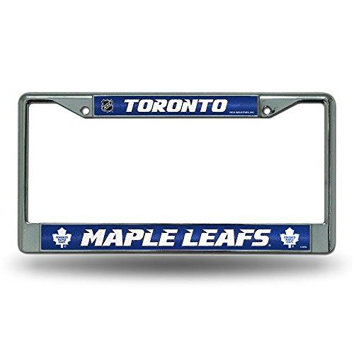 NHL Toronto Maple Leafs Bling Chrome Plate Frame