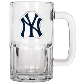 MLB New York Yankees 20-Ounce Root Beer Style Mug - Primary Logo