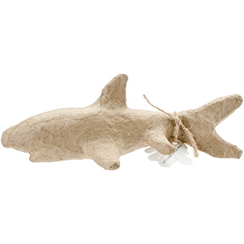 "Decopatch paper mache figurine 4.5\""-dolphin"