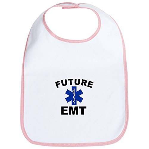 CafePress - Future EMT Bib - Cute Cloth Baby Bib, Toddler Bib