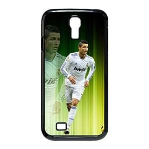 Cristiano Ronaldo Real Madrid Club de F¡§2tbol and football Classic Design Print Black Case With Hard Shell Cover for SamSung Galaxy S4 I9500