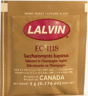 Lalvin EC-1118 Champagne by Midwest Homebrewing and Winemaking Supplies
