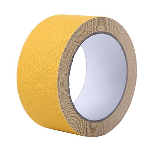 EONBON Yellow Anti Slip Tape, Non Slip Stair Tape, Anti Skid Tape Outdoor , Safety Grip Tape For Steps , Tread Tape - 2 inch x 10 Meter (32.8 Feet) by EONBON