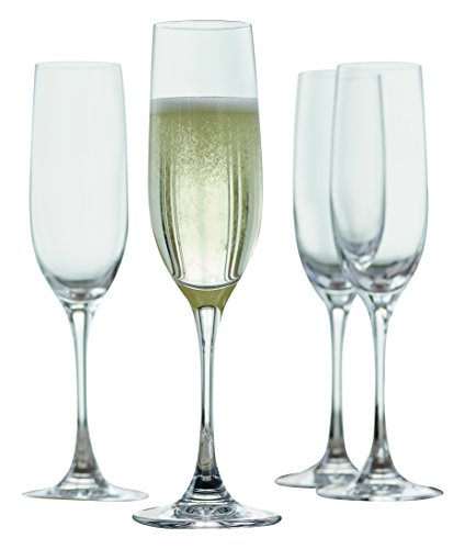 e Sparkling Wine Champagne Flute, Set of 4 (Vino Grande Champagne Flute)