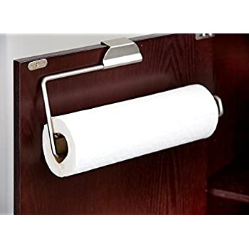 Attirant Home Basics Over The Cabinet Paper Towel Holder
