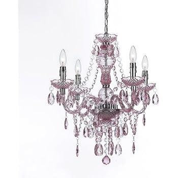 af lighting mini chandelier. af lighting 8683-4h naples four-light mini chandelier - pink af g