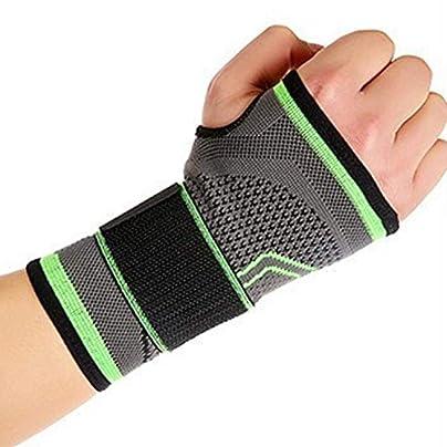 Adjustable High Elastic Bandage Wristband Wrist Brace Wrist Support Sport Gym Anti-Sprain Hand Wristbands Support Brace Estimated Price £8.29 -