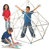 Newspaper Builders - Green Recycle Construction Toy - Rod Tubes & Connectors