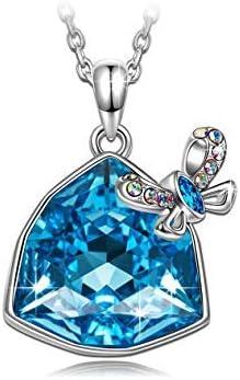 Real plata corazón collar regalo maravilloso Momia Joyas Caja Regalo De Cumpleaños