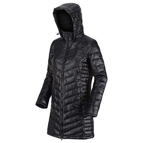 Regatta Women's Andel Ii Lightweight Insulated Hooded Baffle Quilted Jacket Jacket